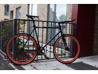 Christmas Sale GOKU Cycles Steel Frame Single speed road bike TRACK bike fixed gear bike 210