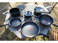 Tefal 6 pan set - good condition - great for a new home or going to uni - £35