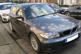 BMW 116i Grey Manual (2005) with low mileage!