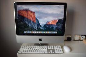 Apple iMac (desktop computer w/ 250GB HD, keyboard & mouse)