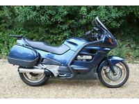 Blue Honda Pan European ST1100