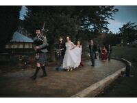 Full-time, professional bagpiper / piper for hire - Weddings, Funerals, any occasion