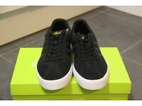 Adidas VL Neo Court Black Suede Lace Up Trainers Shoes Sneakers Footwear Mens
