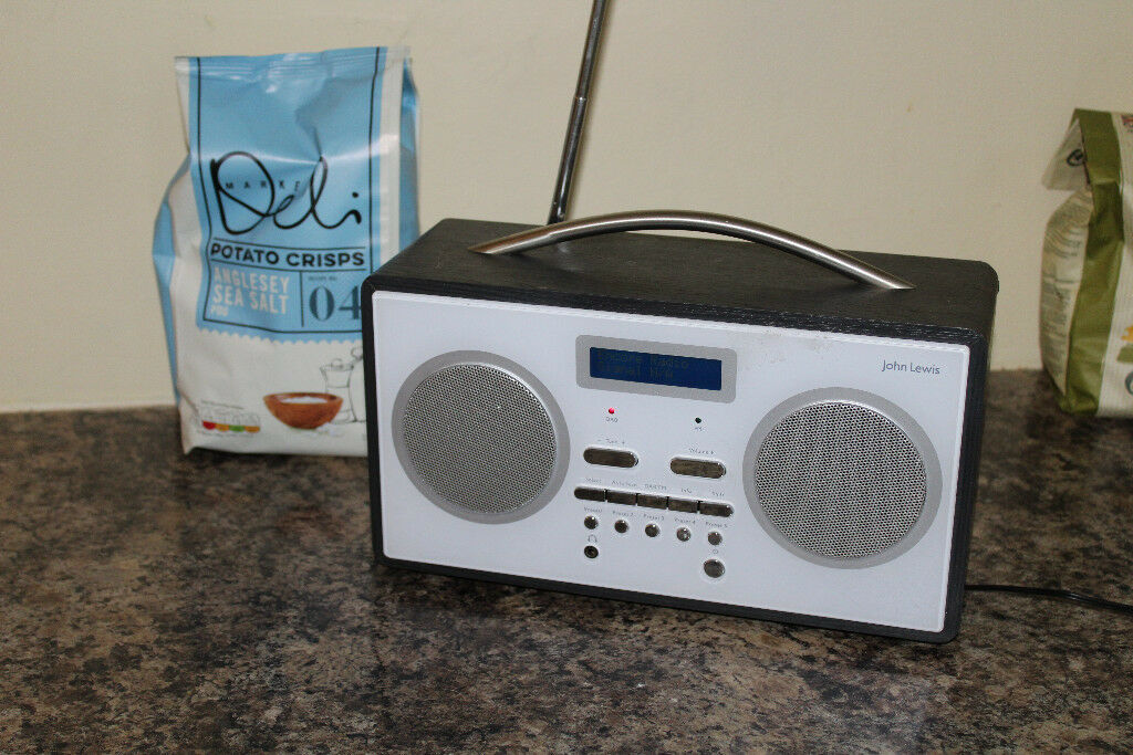 John Lewis DAB/FM mains radio.