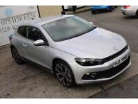 2010 VOLKSWAGEN SCIROCCO 2.0 GT TDI 140 BHP COUPE (FINANCE & WARRANTY)