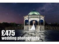 Professional Wedding Photography From £395 to £475