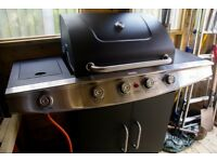 BBQ Blooma Kansas New Erected but never used 4 burners + sided burner