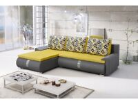 """Amazing Corner Sofa Bed with High Quality Finish """"AGNES"""""""
