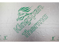 2 KINGSPAN (like Celotex) PIR boards, 1.2m by 2.4m 100mm thick, NEW, will sell singly