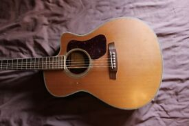 Walden G630CE 6 String Acoustic Guitar with Soft Bag