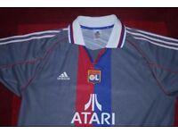 Olmpic Lyon football shirt. Adidas .