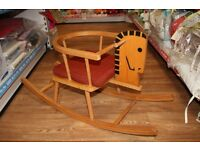 Wooden Rocking Horse Our Preloved Price £20