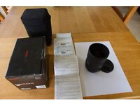 Sigma 8-16mm F4.5-5.6 DC HSM for Cannon. Immaculate condition.