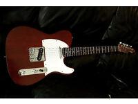 TELECASTER Electric Guitar Mahogony/Rosewood fender strings
