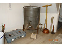 Vintage Gas Heated Wash Boiler