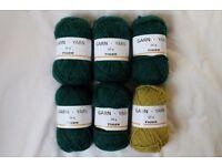 6 x 50g Knitting Yarn