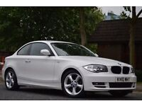 2010 BMW 1 Series 2.0 118d Sport Coupe 12 Month MOT Full Service History Diesel Manual