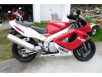 Yamaha YZF1000R Thunderace Sports Touring 1998 Long MOT ready to ride