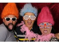 Photo booth hire service for weddings, parties and events! Customisable options available!