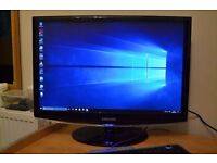 Samsung Syncmaster 2443BW - 24 Inch Monitor - 1920 X 1200 - WIDESCREEN - GAMING