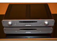 Roksan Caspian M1 Series Pre and Power Amps in New condition With Boxes