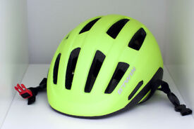 Decathlon B'twinn 500 City Cycling Helmet - Neon Yellow