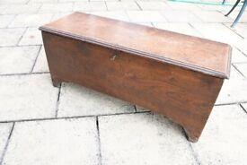Antique Trunk Chest Coffer