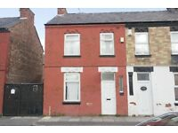 28 Alpha Street, Bootle, Double glazed 3 bedroom end terraced house to let. DSS WELCOME