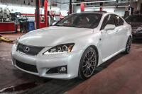 2012 Lexus IS F V8 5.0L.  416HP 8 VITESSES PERFORMANCE AND VERY