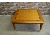 Large wooden Square Coffee Table £35