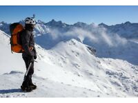Winter mountaineering in Tatras