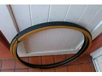 Racing Bike Tyres 27 x 11/4 Fast Tread Pattern For Road and Cycle Track Pair of New Tyres £15