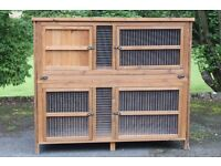 Very good 5-foot double guinea pig or rabbit hutch. Lots of fun for your pet.