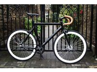 Special offer!!!Aluminium Alloy Frame Single speed road track bike fixed gear racing fixie bicycle h