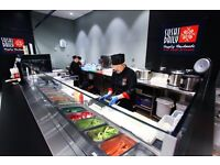 SUSHI CHEF - ALL LEVELS for a Sushi Bar in Solihull