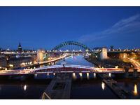 Newcastle Upon Tyne Canvas Print Picture Tyne Bridge