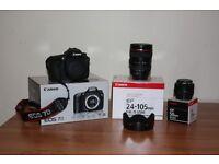 Canon EOS 7D Body,Lens & Speedlite Package