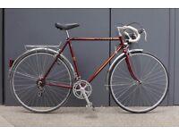 Immaculate Vintage French Men's Peugeot Road Bike / Touring Bike 58cm Frame
