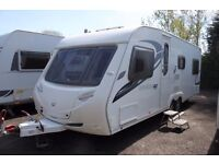 Sterling Eccles amtheyst 90 2010 6 berth Fixed Bed Caravan