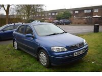**LOW MILEAGE** Blue Vauxhall Astra Mark 4