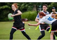 Free Adult Tag Rugby Taster Session Classes in West Yorkshire (Bradford, Leeds and Wakefield)