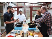 Part time KITCHEN ASSISTANT for Indian Cookery School (based in North London).