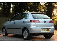 *Beautiful*2003 Seat Ibiza 1.2 5 Door, Met. Silver, Low Mileage*6 Months Warranty*