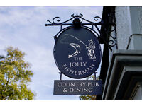Part Time Front of House Team Member - Up to £7.20 per hour - Jolly Fisherman - Ware, Hertfordshire
