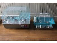 Two Hamster cages (Large and Small) with extras, also suitable for Gerbils