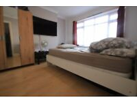 Refurbished One Bedroom, Private Garden Flat. Driveway one car. Hayes.