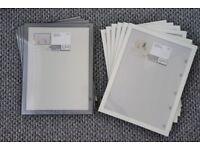 Brand New Black White IKEA FISKBO 30 x 40cm Photo Picture Frames 10x