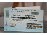 Drag racing tickets