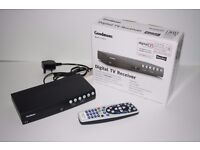 Goodmans Freeview Twin Scart Digital Set Top Box & remote