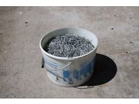 NAILS, 40mm galvanised lost head nails, 20kgs approx.